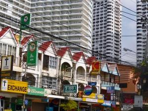 stylové domečky lásky v centru Pataya