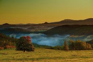 Podzim na Šibeničním vrchu