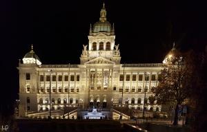 Muzeum v nočním světle