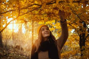Podzimní princezna