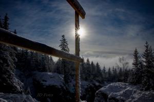 Slunce a sníh